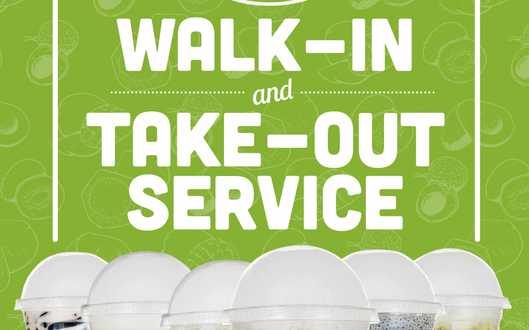 Walk-in Take-Out Service